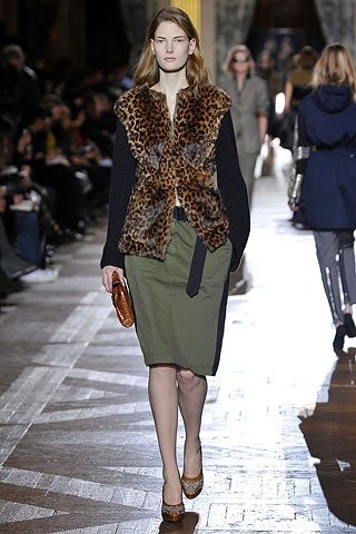 dries leopard LEOPARD PRINTED ARMY  TREND ALERT   The Sche Report / Margaret Sche