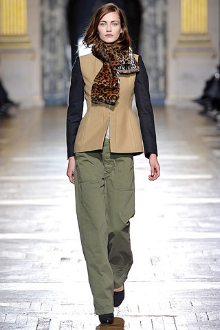 leopard dries LEOPARD PRINTED ARMY  TREND ALERT   The Sche Report / Margaret Sche