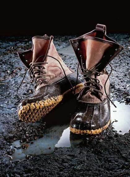 duck boot l l bean 490 TREND ALERT  old school DUCK BOOTS   The Sche Report / Margaret Sche