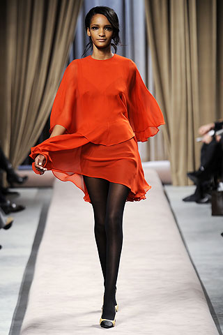 giambattista valli orange COLOR FORECAST:  ORANGE   The Sche Report / Margaret Sche