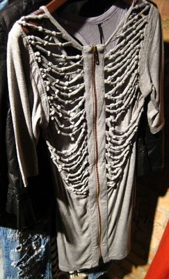 skeleton hoodie1 THE BONE COLLECTOR GIVENCHYS SPINAL INSPIRATIONS   The Sche Report / Margaret Sche