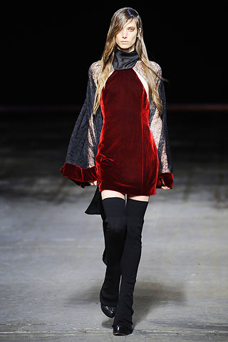 a wang red velvet NYC FASHION WEEK:  ONES TO WATCH   The Sche Report / Margaret Sche