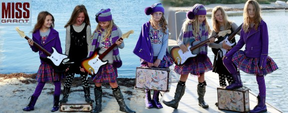 missgrantbanner The Petite Parade:  Kids Fashion Week debuts in NYC   The Sche Report / Margaret Sche