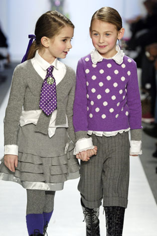 simonetta runway The Petite Parade:  Kids Fashion Week debuts in NYC   The Sche Report / Margaret Sche