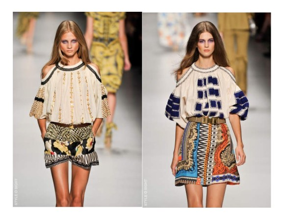 peasant blouse 1 TREND REPORT 2011:  YSL PEASANT BLOUSE REVISITED   The Sche Report / Margaret Sche