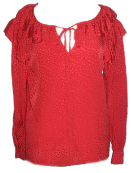 s13 TREND REPORT 2011:  YSL PEASANT BLOUSE REVISITED   The Sche Report / Margaret Sche