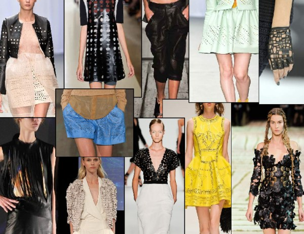 leather with a twist 1 SPRING/SUMMER 2011 TOP 10 TRENDS:  #6 LIGHTWEIGHT LEATHERS   The Sche Report / Margaret Sche