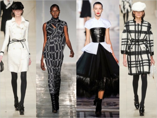 3 LONDON SETS A TREND:  BLACK & WHITE FOR FALL 2011   The Sche Report / Margaret Sche