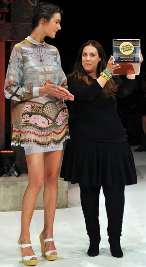 mary katrantzou 3 LONDON FALL 2011:  ONES TO WATCH   The Sche Report / Margaret Sche