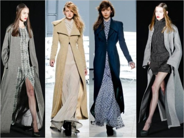 2 FALL 2011 TREND ALERT:  EXTRA LONG COATS   The Sche Report / Margaret Sche
