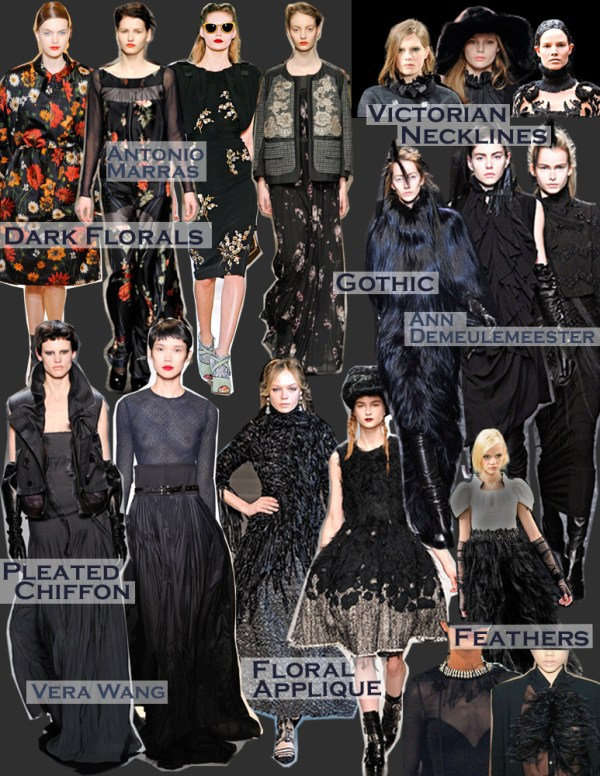 2 dark romantic dichotomy FALL 2011 TOP 10 TRENDS:  #3 ROMANTIC DICHOTOMY   The Sche Report / Margaret Sche