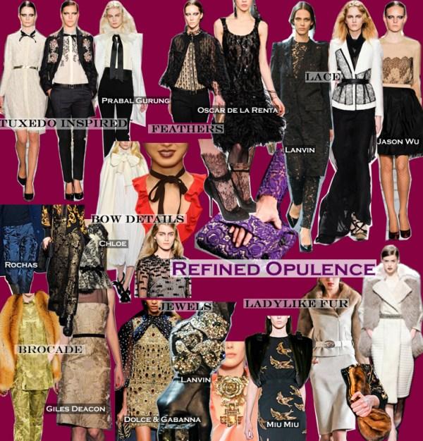 refined opulence 3 FALL 2011 TOP 10 TRENDS:  REFINED OPULENCE   The Sche Report / Margaret Sche