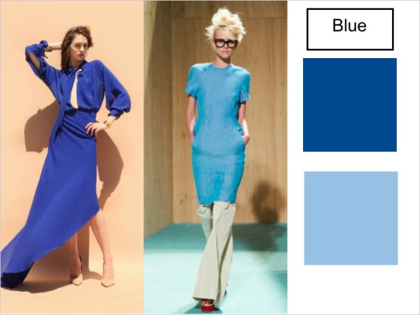 blues SPRING 2012 COLOR PALETTE FORECAST   The Sche Report / Margaret Sche
