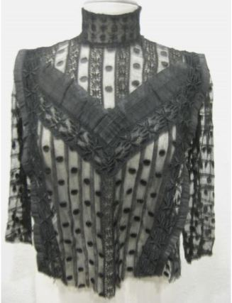 ebay black sheer polka dot 5 KEY ITEMS FOR FALL 2011: GET THE LOOK   The Sche Report / Margaret Sche