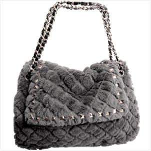 ebay quilted grey shoulder bag 5 KEY ITEMS FOR FALL 2011: GET THE LOOK   The Sche Report / Margaret Sche