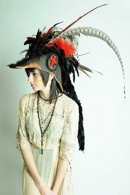 cross big hat ARTISAN APPROACH: RIMA HYENA   The Sche Report / Margaret Sche