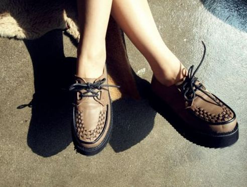 ebay 1 TREND ALERT: CREEPERS RETURN   The Sche Report / Margaret Sche