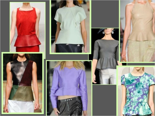 top S/S 2012 TREND ALERT: PEP RALLY   The Sche Report / Margaret Sche
