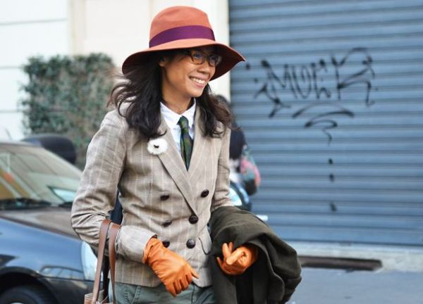 brimmers 5 TREND ALERT: FLOPPY HATS MIXED WITH MENSWEAR STYLE   The Sche Report / Margaret Sche