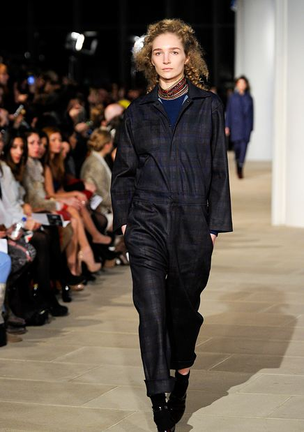cynthia rowley flight suit 3 FW2012 NYFW TREND ALERT: FLIGHT SUITS ON THE RUNWAY   The Sche Report / Margaret Sche