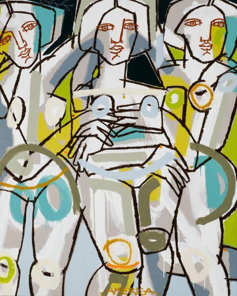 255224 415762531809656 773148839 n STUDIO VISIT WITH ARTIST AMERICA MARTIN   The Sche Report / Margaret Sche