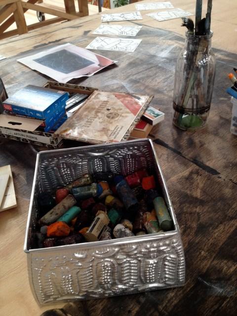 img 3994 STUDIO VISIT WITH ARTIST AMERICA MARTIN   The Sche Report / Margaret Sche