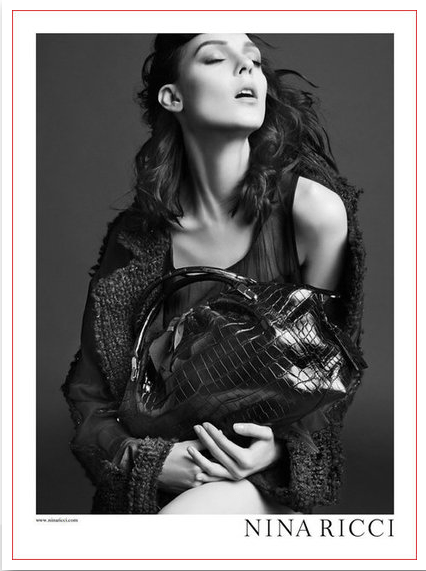 screen shot 2012 08 14 at 2 52 56 pm AD CAMPAIGNS SHOW A B&W PERSPECTIVE FOR FALL 2012   The Sche Report / Margaret Sche