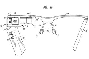 Google Glass Patent Drawing