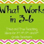 What Works: A Pinterest Board for Upper Elementary Teachers
