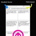TEKS-Based Math Assessments (for new TEKS!)