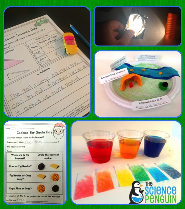 Science Day: 30 Science Experiments for Kindergarten and First Grade