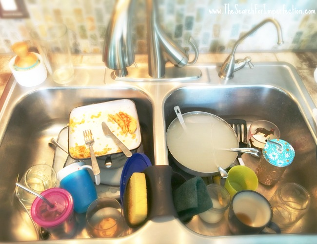 I Don't Care About Dirty Dishes