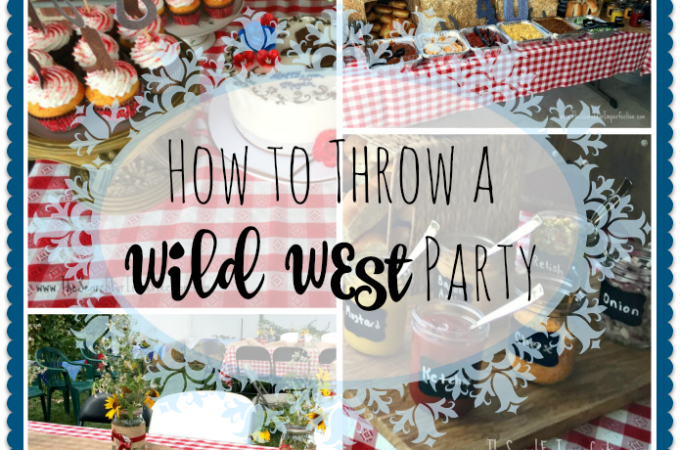 How To Throw a Wild West Party