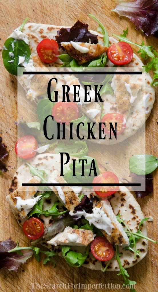 These easy and delicious Greek Chicken Pitas are like a fresh, flavorful twist on a taco.