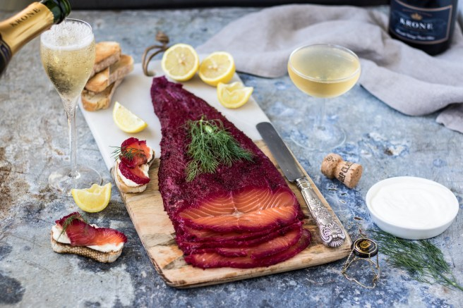 Beetroot & Bubbly Salmon Gravlax   The Secret Life of Bee