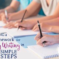 Building a Framework for Essay Writing