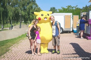 Pikachu spotted near Mocktails this afternoon