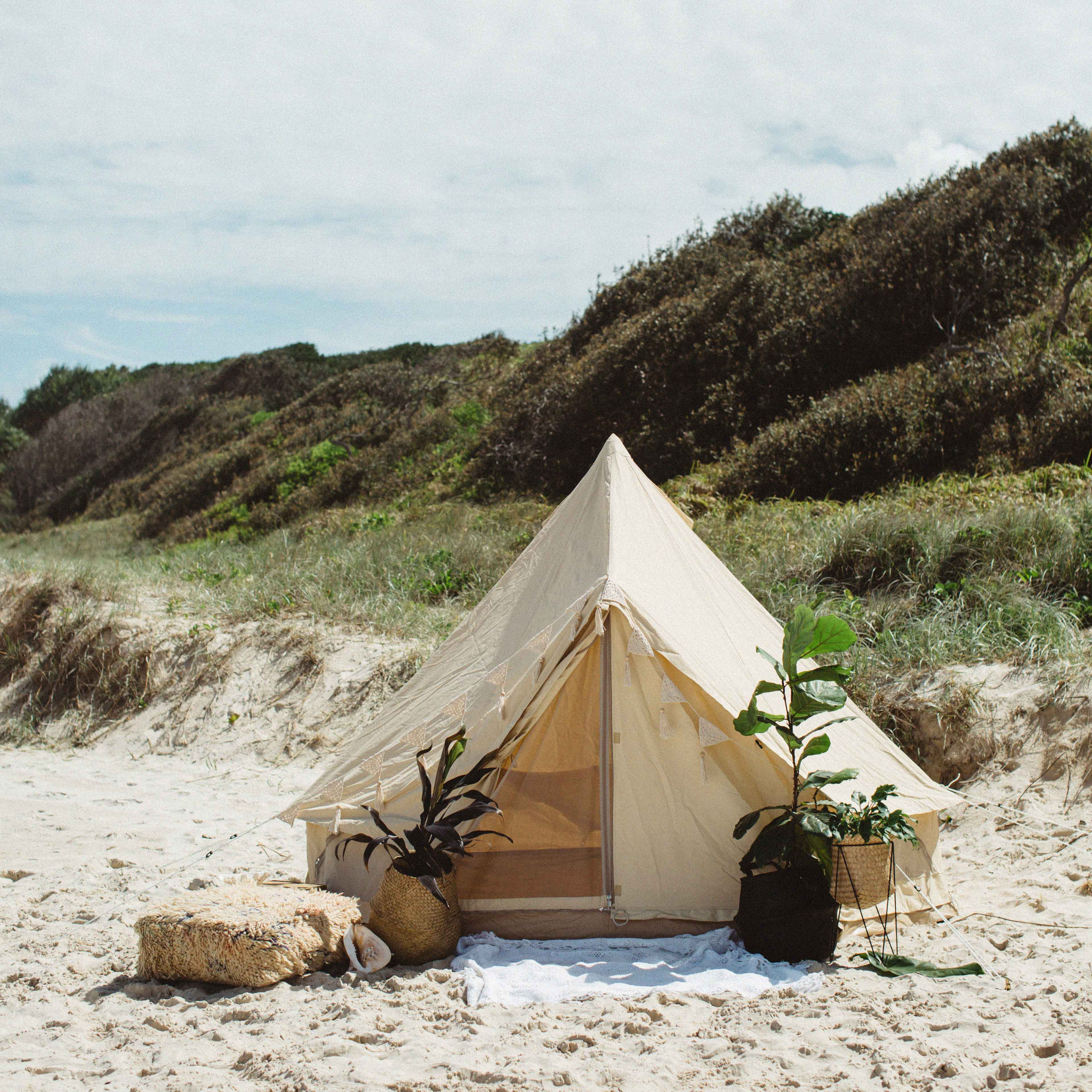 3m Products Australia The Nomad 3m Canvas Bell Tent The Seek Society