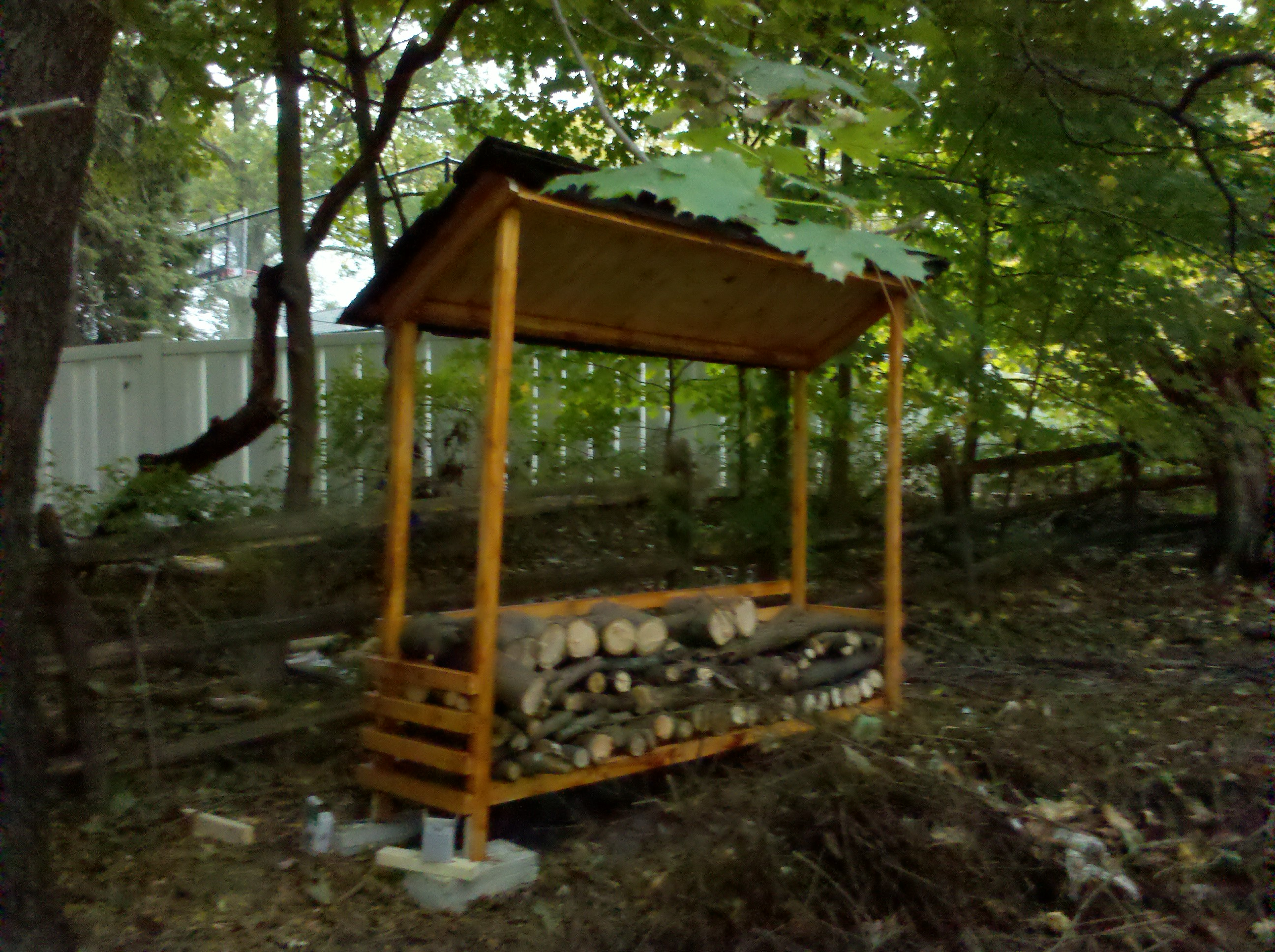 Outdoor Firewood Storage Containers 10 Wood Shed Plans To Keep Firewood Dry The Self