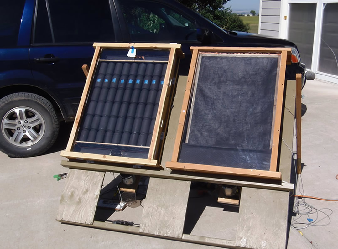 Diy Solar Panels Soda Cans 12 Diy Solar Air Heaters Keep Your Garage Warm With Little
