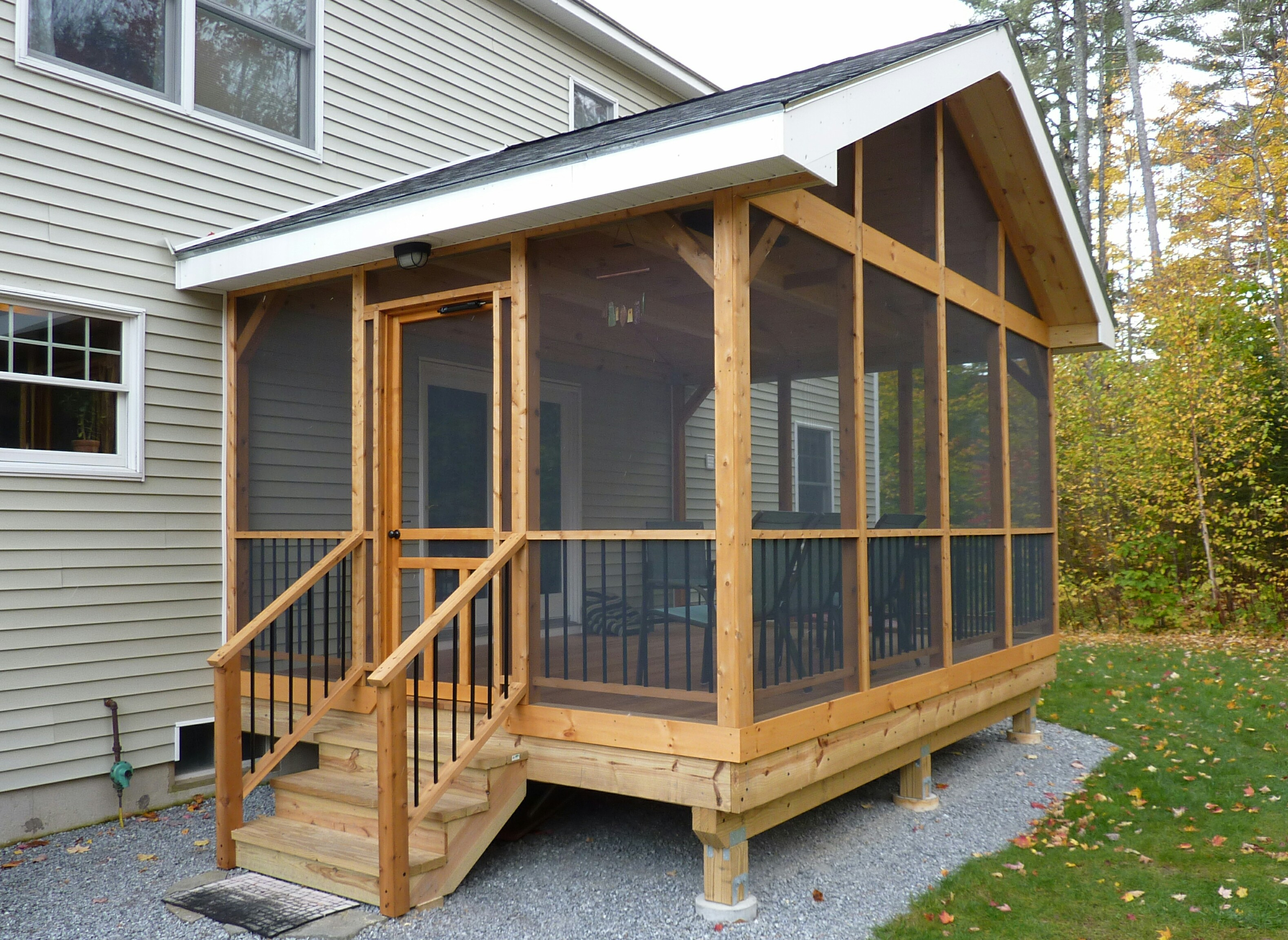 15 Diy Screened In Porch Learn How To Screen In A Porch