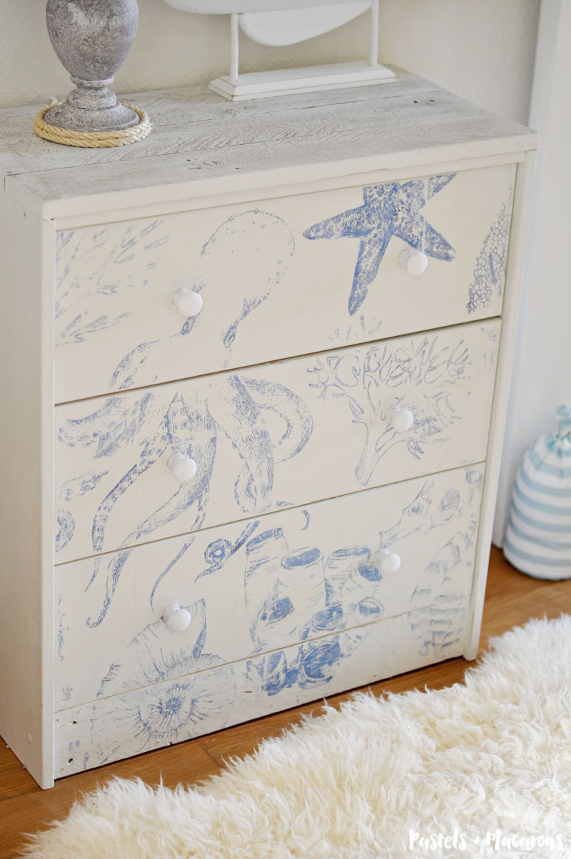 Ikea Rast Ikea Rast Hack Transform A Basic Dresser To Beach Cottage Style