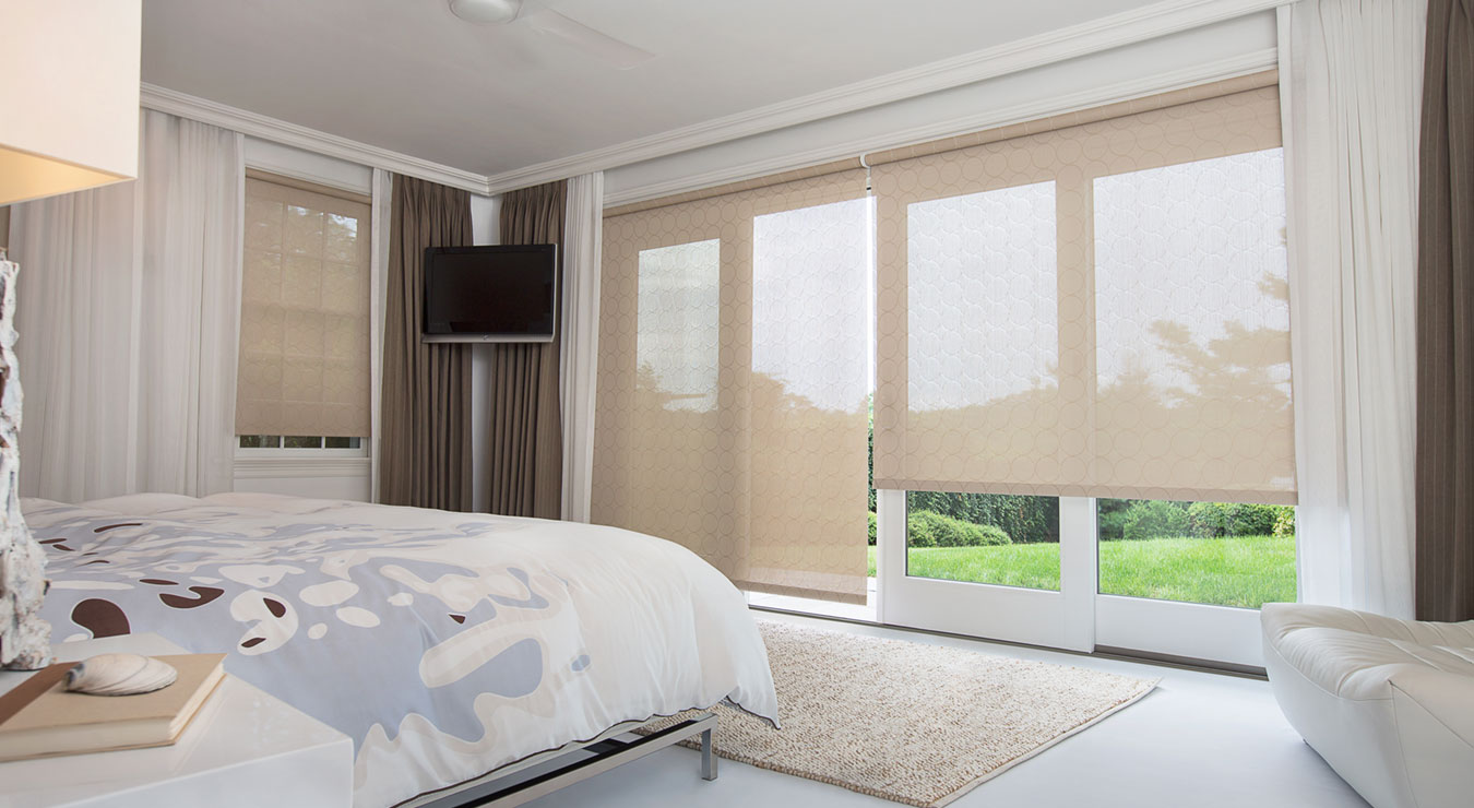Curtains For Large Patio Doors Window Treatments For Sliding Glass Patio Doors The Shade Store