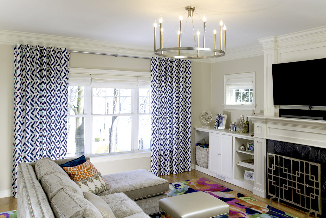 Curtain Ideas Living Room Curtain Ideas The Shade Store Blog
