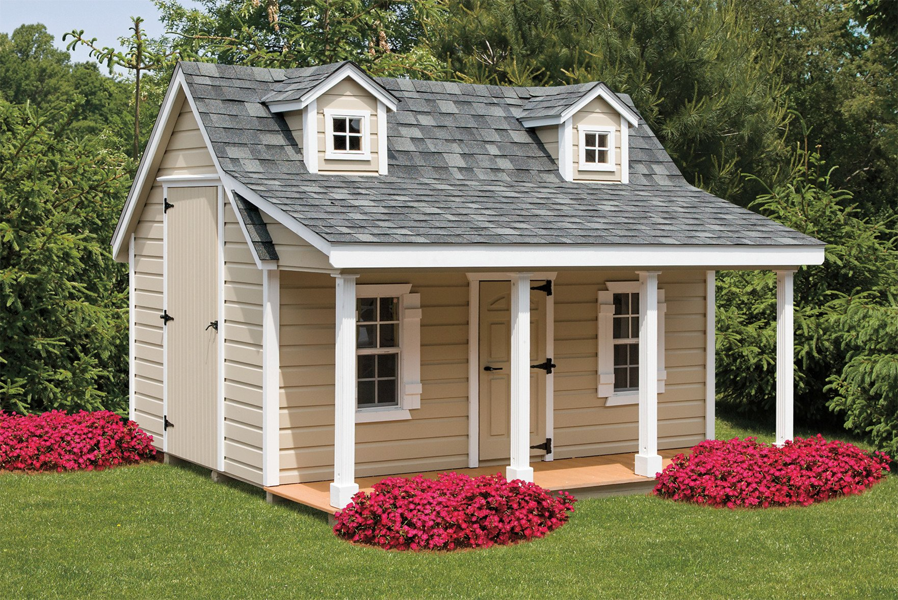Cottage Haus Playhouse 12x12 The New England Cottage The Shed Haus