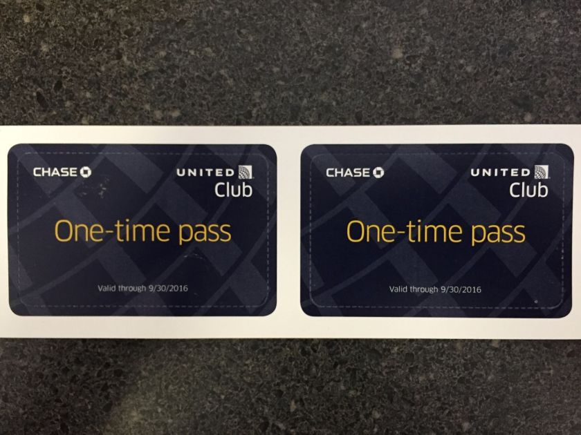 United Club Passes