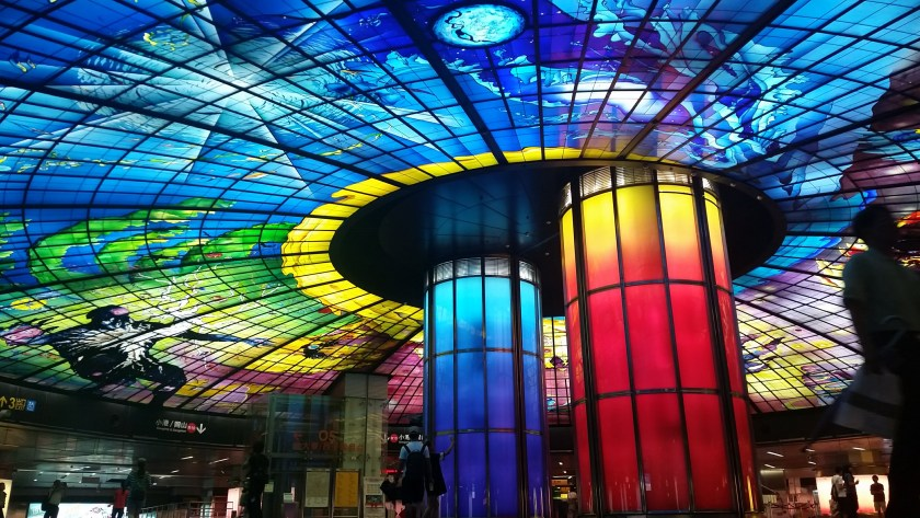The famous Dome of Light!