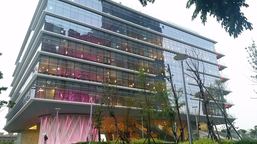 Exterior of the Kaohsiung Public Library