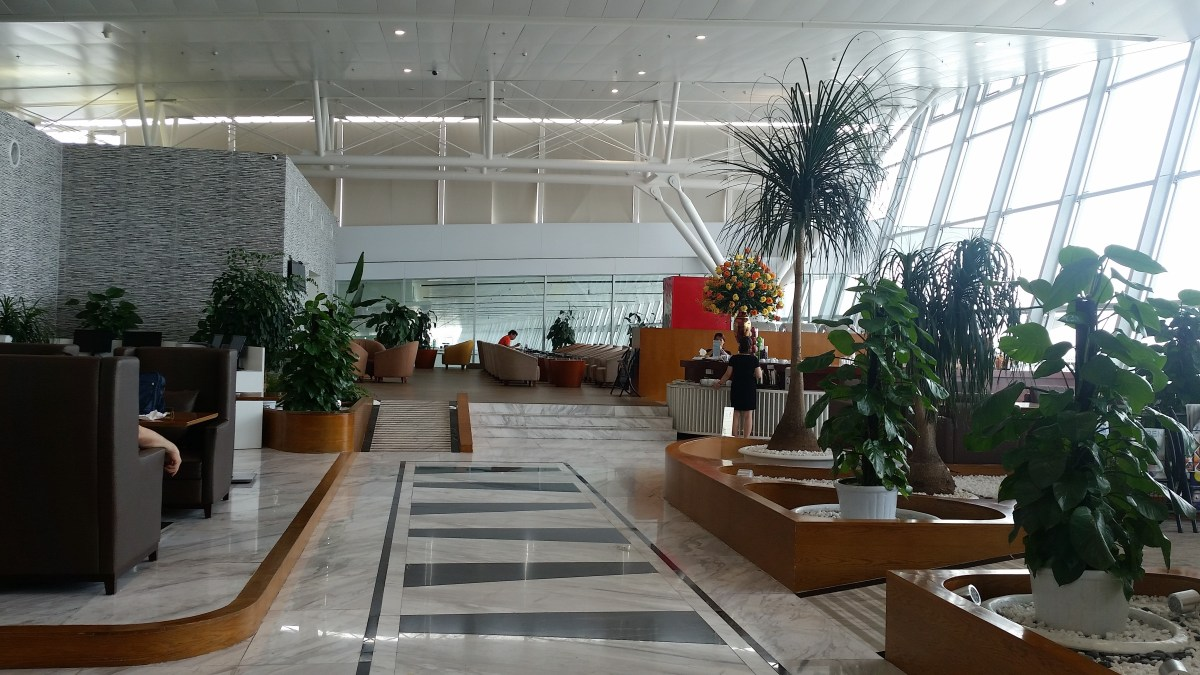 Lounge Review : NIA Lounge Noi Bai International Airport Hanoi Vietnam