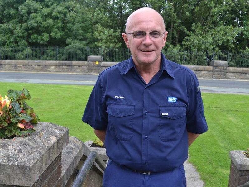 Compassionate Care National Accolade for Hospital Porter John The